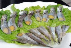 Seafood_Wild Capelin fishes 20lbs/box 多春鱼20磅箱