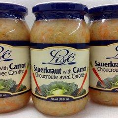 POL_ Lisc Sauerkraut With Carrot 900ml