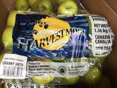 Pro.o_Local Organic Granny Smith Apples 3lb 本地有机青苹果3磅/袋