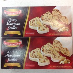 GER_Luxury Marzipan Christmas Stollen 750g