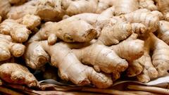 Peru Organic Ginger 30lbs Case 秘鲁有机姜30磅箱