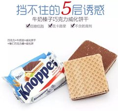 Best_Knoppers Wafer 25g 德国Knoppers榛子威化饼1块