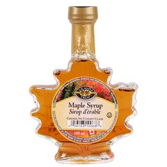 GIFT_L. B. Maple Syrup Maple Leaf Bottle No 1 Light 100mL 顶级100%纯枫叶糖浆 100毫升