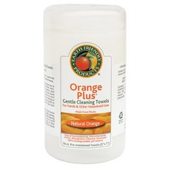 Earth Friendly Orange Cleaning Towels