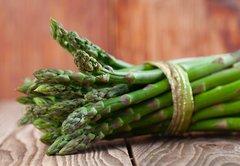 Fresh Washington Asparagus bunch 2lbs 新鲜华盛顿芦笋一大扎,约2磅