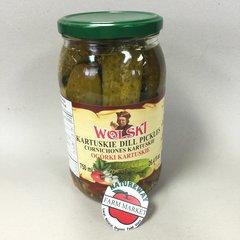 POL_Wolski Kartuskie Dill Pickles 750ml (No Shipping, Pick-Up Only)