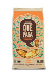 BEST_Que Pasa Organic Salted Tortilla Chips 425g 有机薯片零食425g大包装