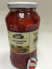 CZ_ADY Red Peppers Sliced_No Shipping_Pick up ONLY