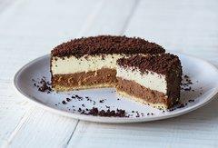 Letao cheesecake chocolate double Letao 双层巧克力起司蛋糕