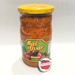 SER_Bas Ajvar 660 ml (No Shipping, Pick-Up Only)