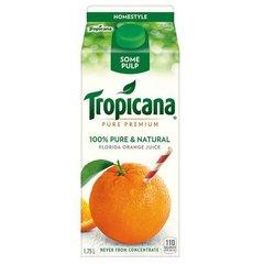 Dairy_Tropicana 100% Orange juice 1.75L