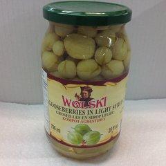 POL_Wolski Gooseberry in Light Syrup