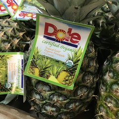 Organic Pineapple box 新鲜有机菠萝一颗