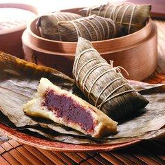 Homemade_Red bean Sweet Rice Wrap纯手工制作【豆沙粽】1袋约400克(2个装)