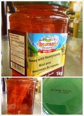 Honey_German Honey with Honeycomb 德国最好蜂巢蜜 1公斤/ 瓶