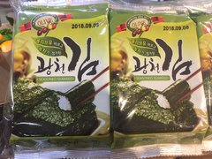 Korean Seasoned Seaweed 10 items x5g/韩国美味海苔 10包装