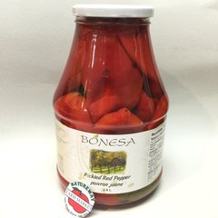 BOS_Bonesa Pickled Red Pepper 2.6 L (No Shipping, Pick-Up Only)