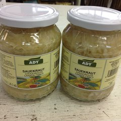 CZ_ADY Sauerkraut CHOUCROUTE_No Shipping_Pick up ONLY
