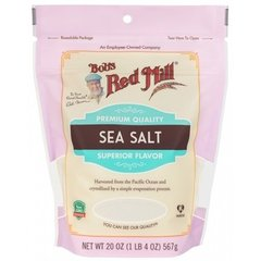 Salt_Bob's sea salt 567g/bag 加拿大海盐567克袋