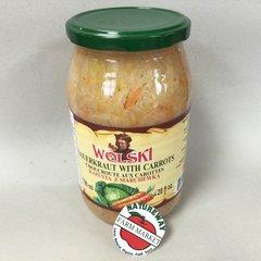 POL_Wolski Sauerkraut with Carrots 796ml (No Shipping, Pick-Up Only)