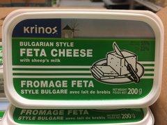 Krinos_Feta Cheese_Bulgarian Style with Sheep's Milk 200g / Feta 羊奶奶酪Cheese