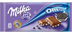 GER_Milka OREO Chocolate 100g 德国Milka奥利奥夹心巧克力 100克