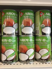 Aroy-D Organic Coconut Milk 400ml / Aroy -D 有机椰浆奶400ml