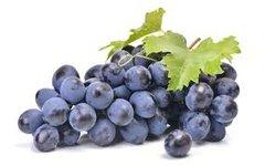 Black Muscat Grapes 4 Lbs 【畅销品】香甜无籽黑加仑葡萄2袋,约4磅