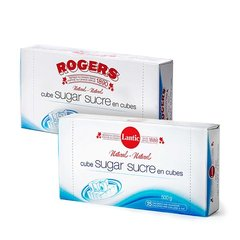 Rogers White Sugar Cube Tray 500g 白方糖500克/盒