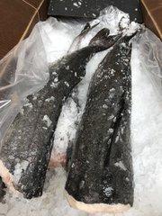 Seafood Fresh Black Cod 1 count 5-6.5lbs 野生新鲜黑鳕鱼一条(无头去肚),约5-6.5磅(每磅$18.99, 按磅,多退少补)