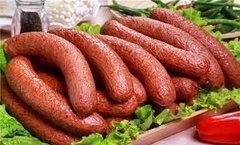 Local made Regular Sausage 500g 哈尔滨红肠三根,约500克