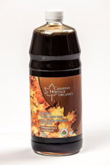 Canadian Heritage 100% Organic Maple Syrup [Dark] 1 Litre 加拿大有机枫糖浆 1升装