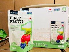 Freeze Dried Mixed Fruits Apple&Blueberry Box /加拿大冻干水果 100%纯水果 苹果&蓝莓/箱8包