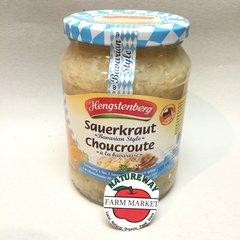 GER_Henstenberg Sauerkraut 720ml (No Shipping, Pick-Up Only)