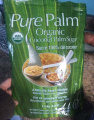 Pure Palm Organic Coconut Palm Sugar 1.8kg 椰糖/棕梠糖1.8千克袋