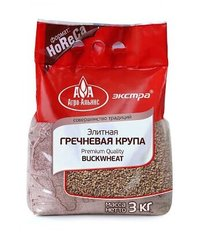 RUS_BUCKWHEAT ELITE PREMIUM Гречка 3Kg (Pick up only, no shipping)