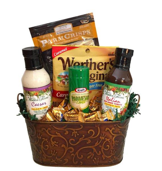 Tasty salad basket diabetic gift baskets tasty salad basket negle Images