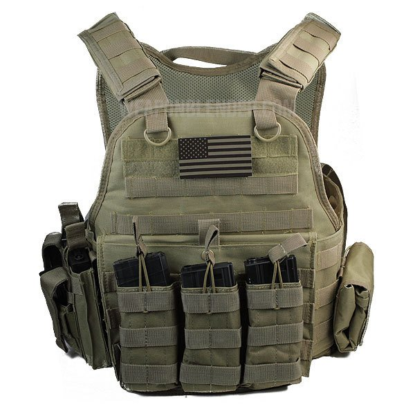 Rothco Carrier W Molle And Certified Ar500 Nij Compliant