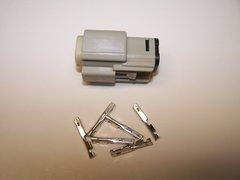 1 Harley 6x Gray Female OEM Molex MX150 connector+terminals