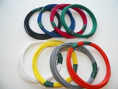 18 Gauge TXL Wire - 8 solid colors each 10 foot long