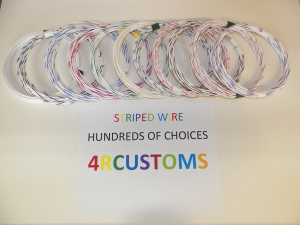 HARLEY AUTOMOTIVE WIRE STRIPE WIRE 300 COLOR AVAILABLE ANY LENGTH