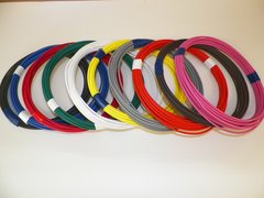 22 Gauge TXL Wire - 10 solid colors each 25 foot long