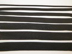 NYMAX PREMIUM BLACK BRAIDED EXPANDABLE FLEX SLEEVE WIRING LOOM FLEXIABLE