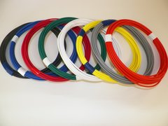 22 Gauge TXL Wire - 8 solid colors each 25 foot long