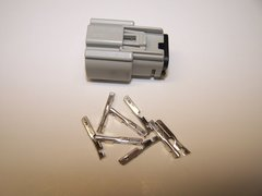 1 Harley 8x Gray Female OEM Molex MX150 connector and terminals