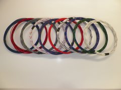 20 Gauge TXL wire - Striped Color and Size Options