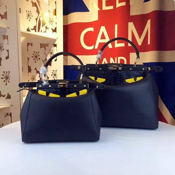 Vintage Fendi Regular Peekaboo Handbag