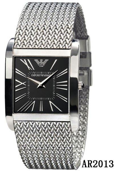 Men's Emporio Armani AR2013 Silver Stainless-Steel Quartz Watch