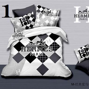 Hermes Luxury High-Quality 6 Pc Brand Bed-Set