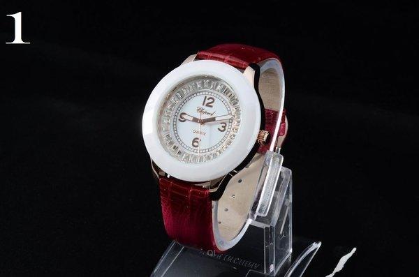 Ladies Chopard Custom Happy Sport Solid Dial Luxury Watch 700272